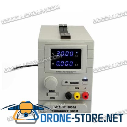 WEP-305DA 30V 5A Switching Regulated Adjustable Digital DC Power Supply