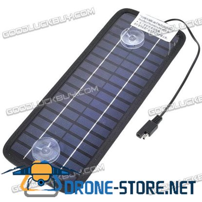3.5W 12V 200mA Polysilicon Battery Charger Solar Power Panel  For Car Laptop