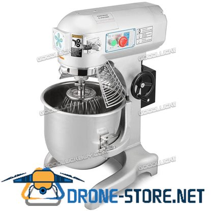 10L Commercial Multi-functional Food Mixer Mixing Tool Dough Home