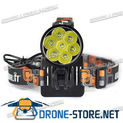 LT-7T6 CREE XM T6 7000LM Waterproof 3-Mode Bike Light Bicycle Lamp Headlamp