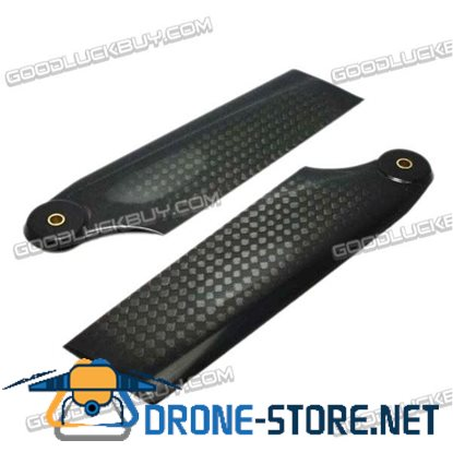 105mm Carbon Fiber Tail Rotor 3mm Pitch for Helicopter Align 700E RJX 700 1 pair