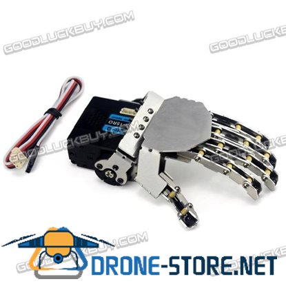 Robot Humanoid Manipulator Five Fingers Anthropomorphic Left Hand with Servo