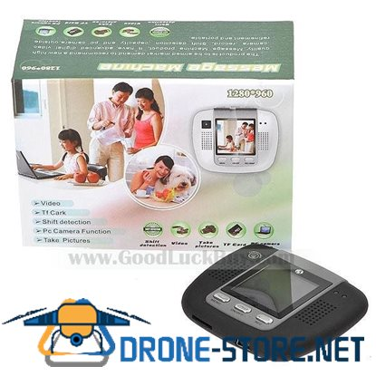 "1.5"" LCD Video Audio Recorder Camera Message Machine Mini DVR"