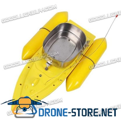 T10 Mini Carp Bait Fishing Fish Boat Course 300M with Remote Control Yellow