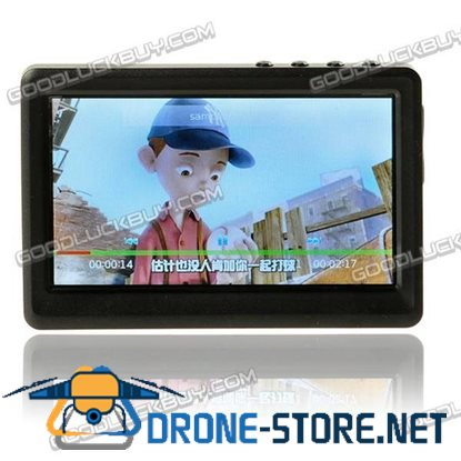 """4.3"""" PMP MP4 MP5 Movie Music Video Player FM TV OUT 4G Black"""
