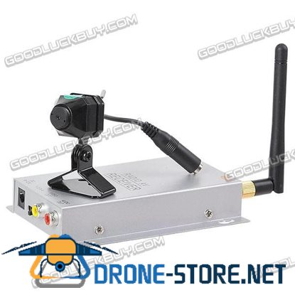 2.4G CCTV PAL Wireless Camera & Receiver Security System KY-2.4GR01+ C-100A
