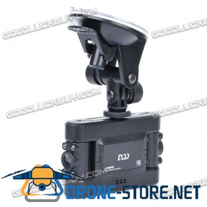 DOD V650 5MP Dual Camera Wide Angle DVR Camcorder  8 IR LED Night Vision for Car