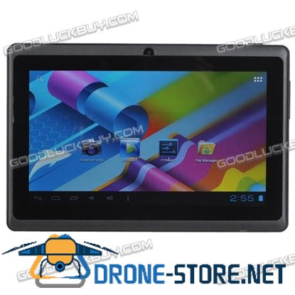 7 inch Google Android 4.0 Capacitive 4GB Mid Tablet PC WiFi 3G A13 Multi-Core Black