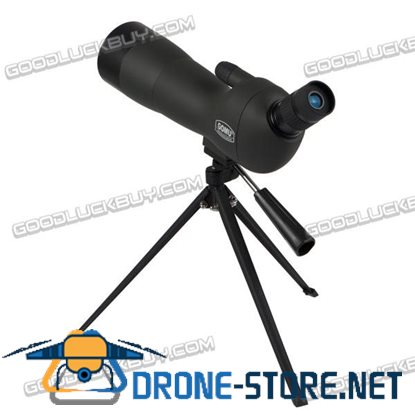 GOMU 20-60x60 Zoom Spotting Scope Monoculars Telescope with Tripod&Cell Phone Adapter