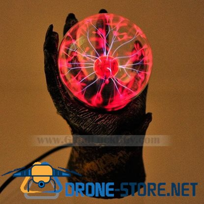 Fiada Magic Plasma Lightning Glass Ball Sphere Party Light Lamp