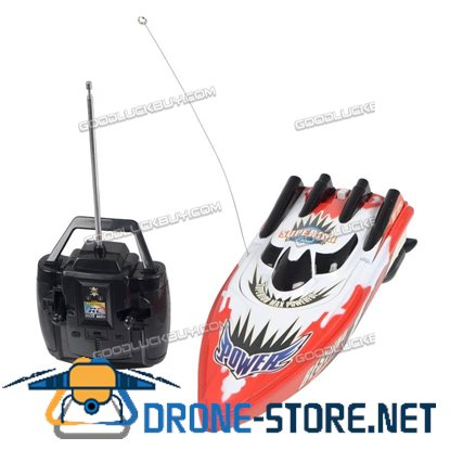 Radio Control Remote Control RC Racing Boat High Speed RC Boat Ship Toy Gift Red