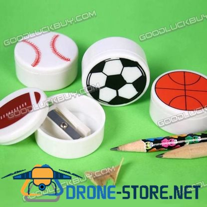 Novelty Sports Ball Pencil Sharpener (4-Pack)