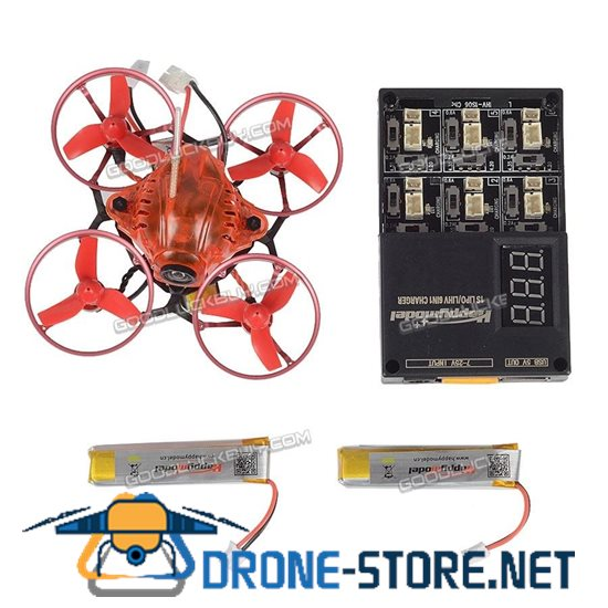 Happymodel Snapper 6 Brushless Whoop Racer Drone BNF w/ Frsky Receiver & Three Battery