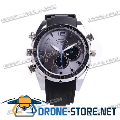 1080P HD Spy Camera Camcorder Watch Night Vision Waterproof 8GB W5000