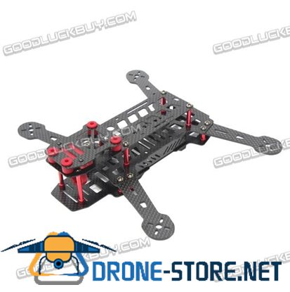 DARLC DL215 215mm 4-Axis Carbon Fiber Quadcopter Frame Kit Camera Angle Adjustable for FPV
