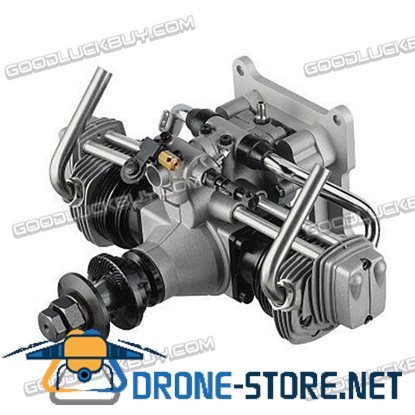 ASP FT160AR 4-Sroke Engine with Muffler Twin-Cylinder for RC Airplane