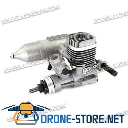 25A ASP 2-Stroke Glow Engine with Muffler for RC Airplane