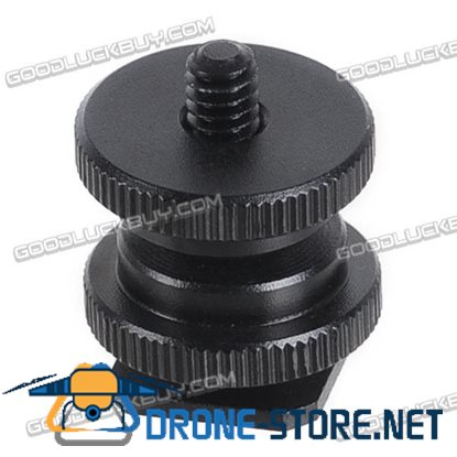 1/4 3/8 Inch Dual Layer Screw Hole Multifunctional Screws for Camera Hotshoe Connector