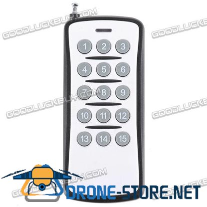 15CH Remote Control Switch 15 Buttons Transmitter 12V