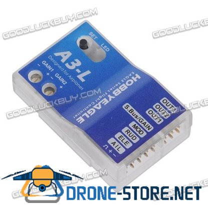 A3-L Hobby Eagle Flight Controller for RC Fixed-wing Copters