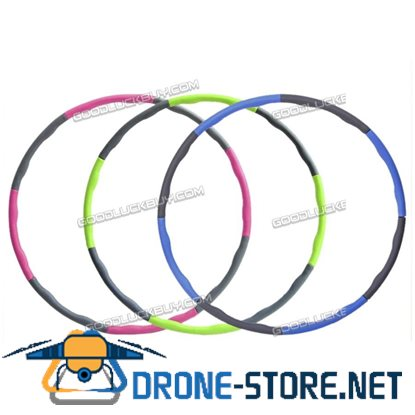 100cm Hula Hoop Removable Weight Loss Hard Tube Equipment for Waist Slimming Fitness