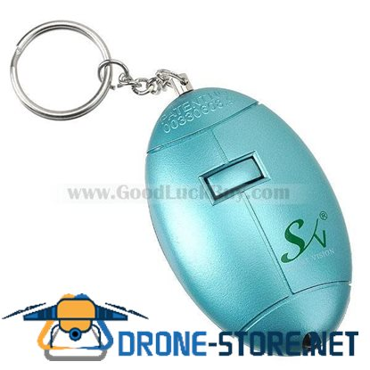 80dB Seek-Help Panic Alarm Keychain (1*23A Included/Color Assorted)