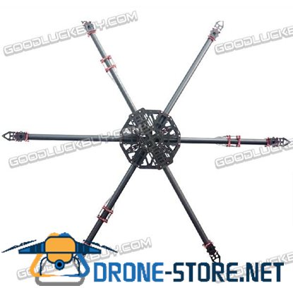 1050mm Dia.25m Glassy Carbon Fiber X6 Fixed Hexacopter Frame Kit RC Multicopter
