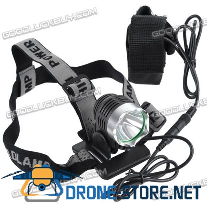 Cree XML-T6 LED Bicycle Bike Light Headlight HeadLamp 1200 Lums
