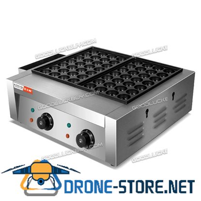 Electric Takoyaki Maker Octopus Ball Cooking Baking Machine 56 Holes Grill Pan Kitchen