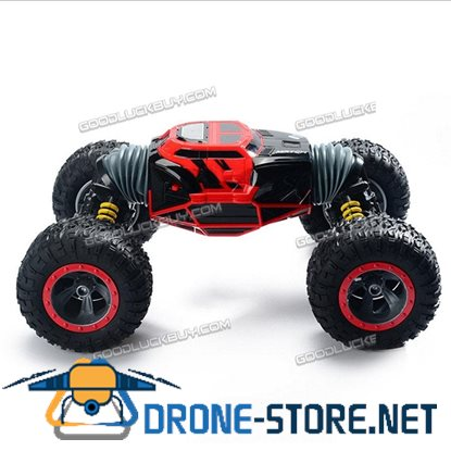 1/10 Scale 2.4G RC High Performance Racing Stunt Off-Road Car Rock Climbing Car Red