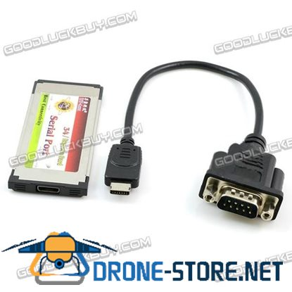 34MM EXPRESS to 9Pin COM Embeded Type Serial Port Extend Card RS-232 Support WIN8