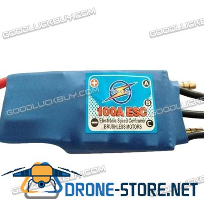 100A ESC Electronic Speed Controller with BEC for RC Boat Brushless Motors