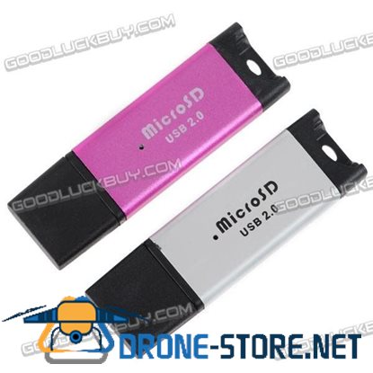 2pcs USB 2.0 All-in-one Memory Card Reader TF/SD/MMC/SD-HC/MS/M2