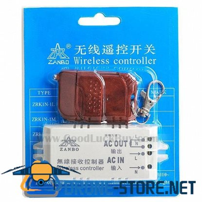 Electrical Appliance RF Wireless Controller with Remote 220V