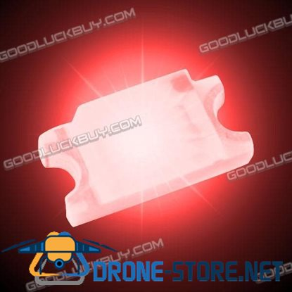 100 Pcs SMD SMT 0805 Super Bright Red LED Lamp Light