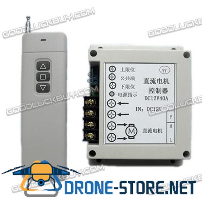 12V/24V 600W/800W DC Motor Controller 40A Large Load Relay with Wall-mount Remote Control