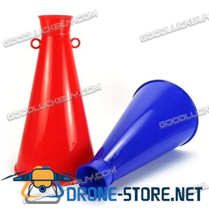 Bugle Horn Amplifier for Sporting Events Party Favors Kids Toy (2-Pack)