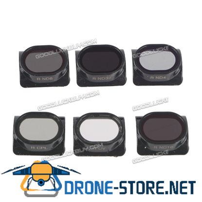 6pcs Gimbal Camera HD Lens Filter For DJI SPARK Drone ND4/ND8/ND16/ND32/MCUV/CPL