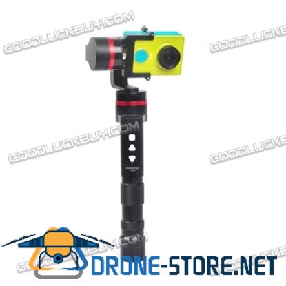 3-Axis Handheld Gimbal Camera Mount with 32Bit Processor for GoPro Hero 3/4 Yi Camera