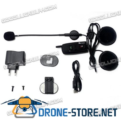 Vnetphone V2-1200 BT Bluetooth Motorcycle Helmet Interphone Intercom 1200M 1pc