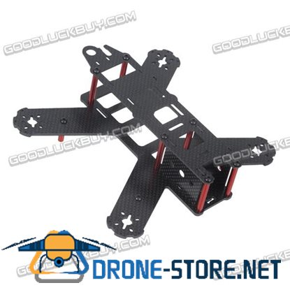 QAV180 180mm 4-Axis Carbon Fiber Quadcopter Frame with Power Distribution Board & 4045 Props for FPV