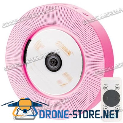 IFE Pink Minimal Wall Hanging Mount CD Player Remote Control