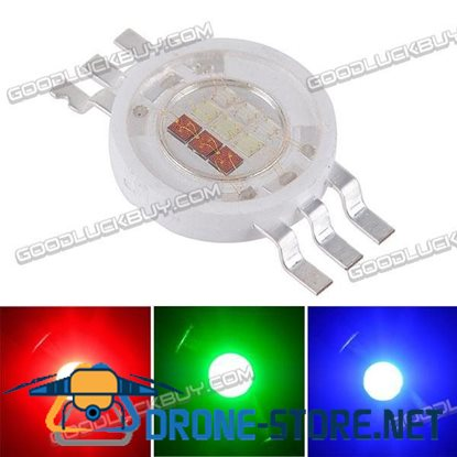 10W RGB High-power LED Emitter Light Bulb Lamp Full Color