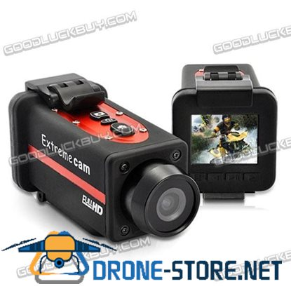 Extreme Full 1080P HD Sports Waterproof Camera 4x Digital Zoom HDMI