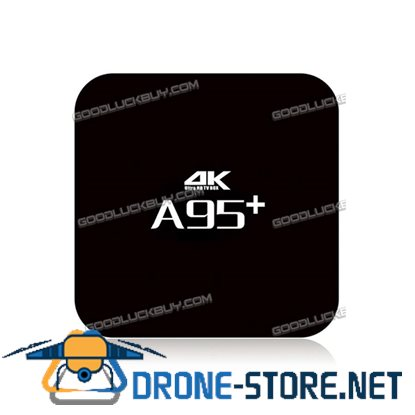 A95+ Amlogic S905 Quad Core 2G/16G Android 5.1 Smart TV Box Bluetooth HDMI 3D Media Player