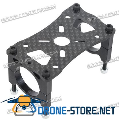 DIY Motor Mounting holes from 19-25 Plate Kit for Quad Multi-Rotor Aircraft 22mm Diameter Carbon Fiber