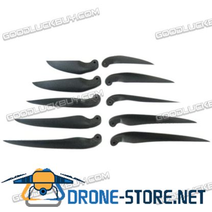 1 Pair 15.5x9.5 CW CCW Folding Propeller Blade For Quadcopter MultiCoptor