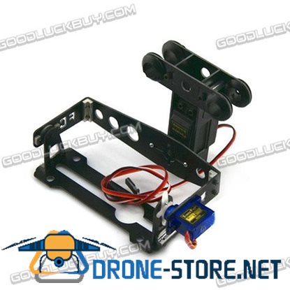 FC-T8 GOPRO FPV Stability PTZ 2-Axis Glass Fiber Aerial Photography PTZ for Quadcopter