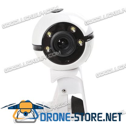 M038 4 LED 2.0Mega USB2.0 Webcam Camera for PC Laptop