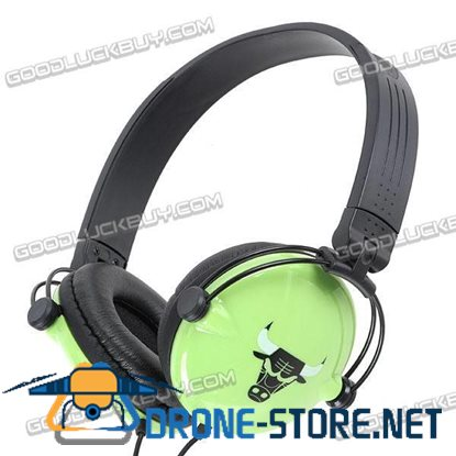 StereoStereo Headphone Headset Super Bass w/ Microphone Mic 2200PC